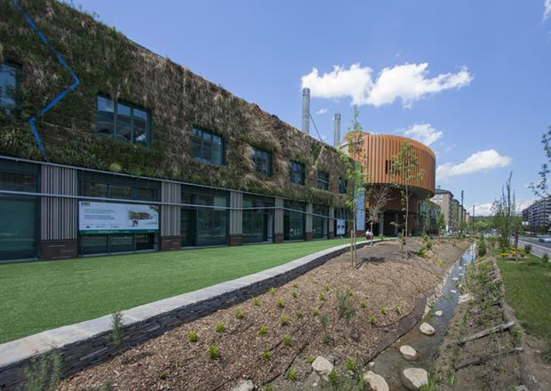 Palacio de congresos y exposiciones europa de vitoria for Ciudad jardin vitoria